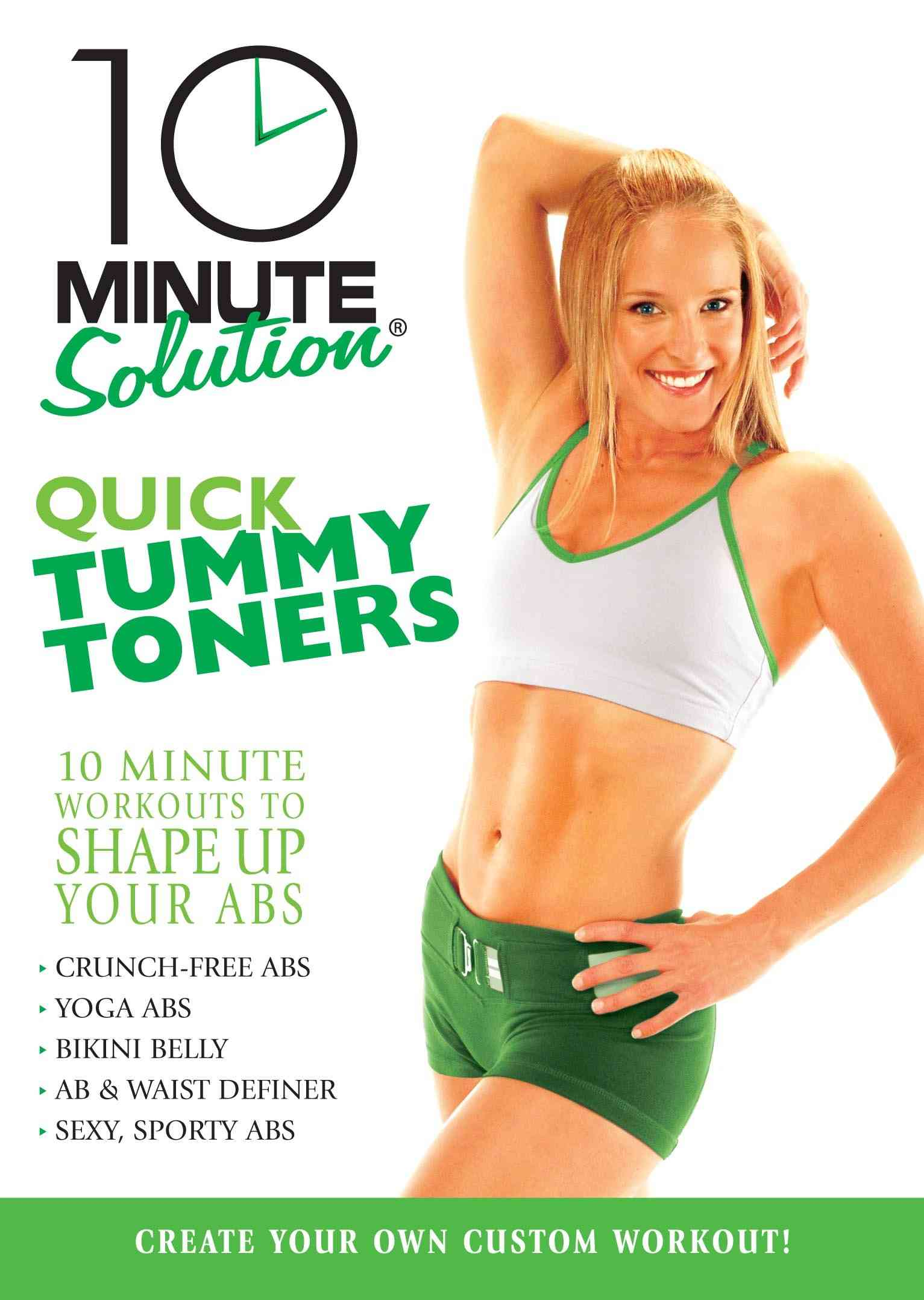 10 MINUTE SOLUTION:QUICK TUMMY TONERS BY 10 MINUTE SOLUTION (DVD)
