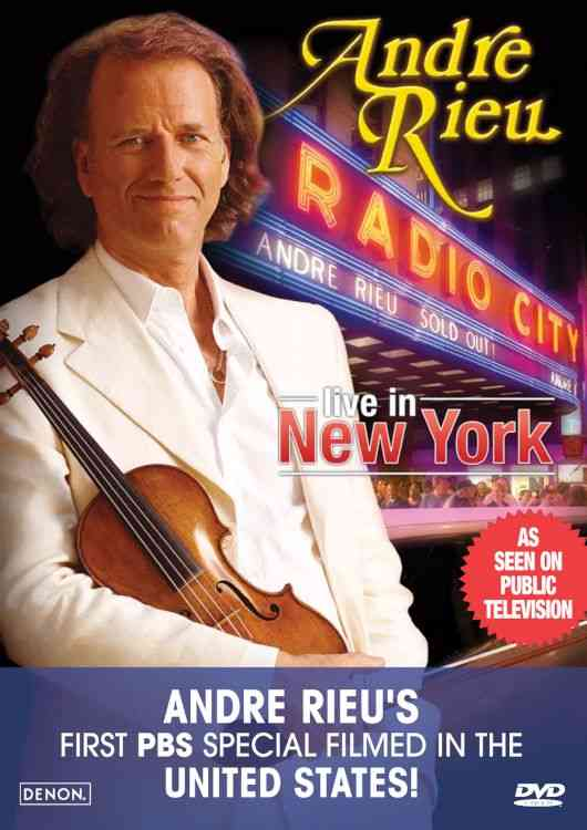 ANDRE RIEU LIVE IN NEW YORK BY RIEU,ANDRE (DVD)
